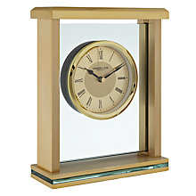 Buy London Clock Mantel Clock, Silver/Gold Online at johnlewis.com
