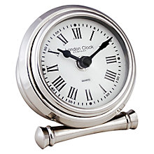 Buy London Clock Company Round Mantle Clock, Small Online at johnlewis.com