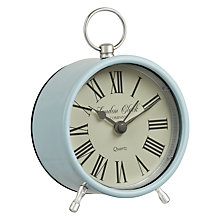 Buy London Clock Company Heritage Mini Fob Alarm, Duck Egg Online at johnlewis.com