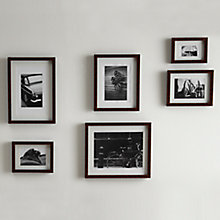Buy John Lewis Walnut Veneer Photo Frame Range Online at johnlewis.com