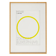 Buy House by John Lewis Natural Wood Effect Photo Frame, A3 with A4 Mount Online at johnlewis.com