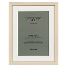 Buy John Lewis Croft Collection Photo Frames, Cream Online at johnlewis.com