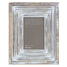 "Buy John Lewis Maison Limed Wood Photo Frame, 4 x 6"" (10 x 15cm) Online at johnlewis.com"