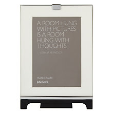 "Buy John Lewis Colchester Vertical Photo Frame, Black, 6 x 8"" (15 x 20cm) Online at johnlewis.com"