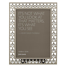 "Buy John Lewis Jewelled Photo Frame, 5  x 7"" (13 x 18cm) Online at johnlewis.com"