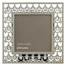 "Buy John Lewis Jewelled Photo Frame, 3 x 3"" (7 x 7cm) Online at johnlewis.com"