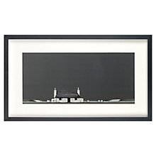 Buy Ron Lawson - Tiree Cottage Framed Print, 30 x 51.7cm Online at johnlewis.com