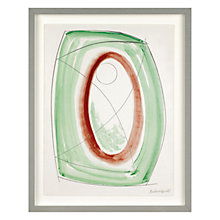 Buy Barbara Hepworth - November Green Framed Print, 49.4 x 39.5cm Online at johnlewis.com