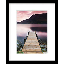 Buy James Bell - Evening Sunset Framed Print, 50 x 40cm Online at johnlewis.com