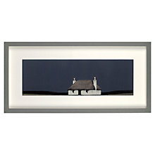 Buy Ron Lawson - North List Cottage Framed Print, 30.1 x 51.7cm Online at johnlewis.com