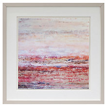 Buy Liz Jameson - Pavola Sunset Framed Print, 42.9 x 42.9cm Online at johnlewis.com