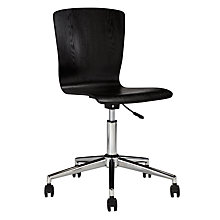 Buy John Lewis Milligan Office Chair, Black Online at johnlewis.com