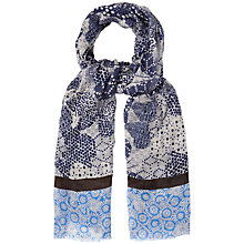 Buy White Stuff Floral Paisley Scarf, Blue Online at johnlewis.com