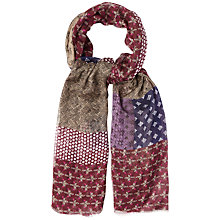Buy White Stuff Floral Patchwork Scarf, Multi Online at johnlewis.com