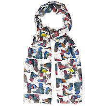 Buy White Stuff Carmba Print Scarf, White Online at johnlewis.com