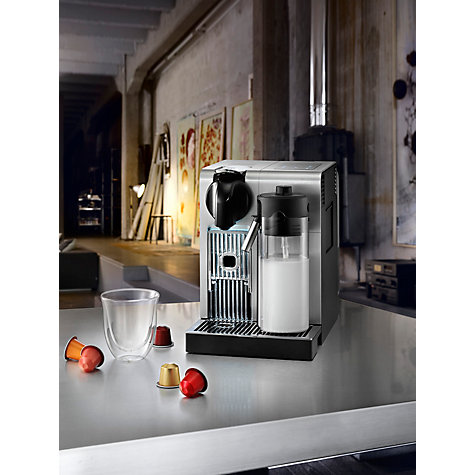 Buy Nespresso EN750.MB Lattissima Pro by De'Longhi, Silver Online at johnlewis.com