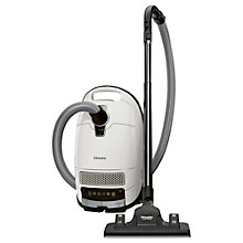 Buy Miele S8 EcoLine Silence Plus Cylinder Vacuum Cleaner, White Online at johnlewis.com