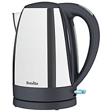 Buy Breville Jug Kettle and 2-Slice Toaster, Polished Stainless Steel Online at johnlewis.com