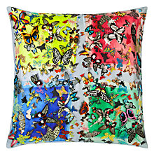 Buy Christian Lacroix Colour Party Cushion, Bougainvillier Online at johnlewis.com