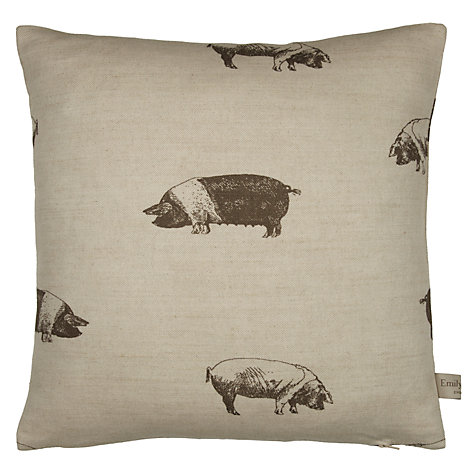 Buy Emily Bond Pig Cushion Online at johnlewis.com