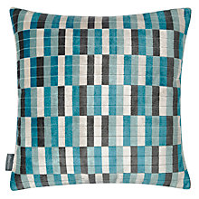 Buy Kirkby Design by Romo District Cushion, Kingfisher Online at johnlewis.com