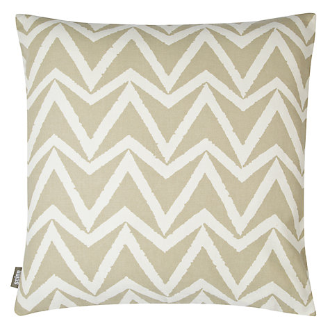 Buy Scion Dhurrie Cushion, Stone Online at johnlewis.com