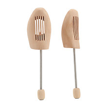 Buy John Lewis Wooden Spiral Shoe Trees, L Online at johnlewis.com