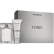 Buy Ermengildo Zegna Uomo for Men Eau de Toilette Gift Set Online at johnlewis.com