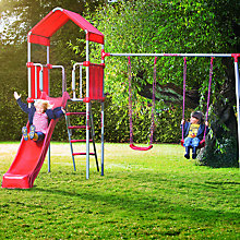 Buy KETTLER Metal Tower with Swings Online at johnlewis.com