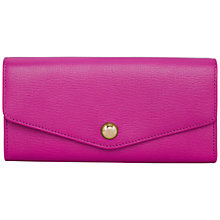 Buy Mulberry Dome Rivet Cont Leather Wallet Pink Online at johnlewis.com