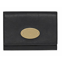 Buy Mulberry Leather French Purse Online at johnlewis.com