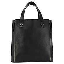 Buy Collection WEEKEND by John Lewis Roden Large Zip Leather Tote Bag Online at johnlewis.com