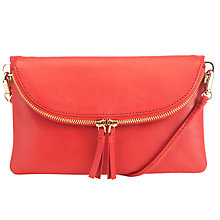 Buy COLLECTION by John Lewis Hayley Leather Clutch Bag Online at johnlewis.com