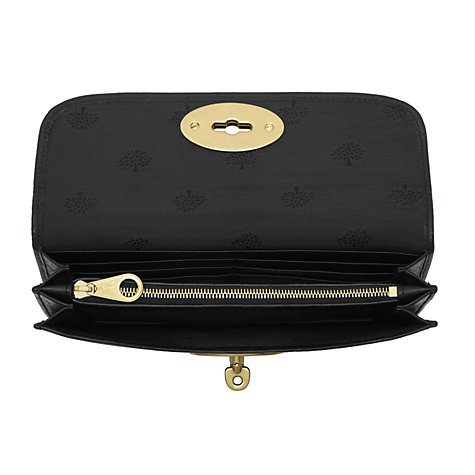 Buy Mulberry Long Locked Leather Purse Online at johnlewis.com