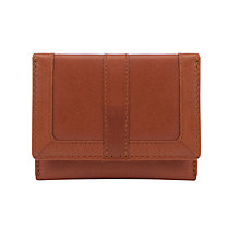 Buy John Lewis Leather Card Holder Wallet, Tan Online at johnlewis.com
