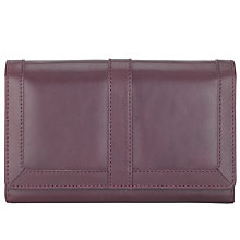 Buy John Lewis Large Flapover Leather Purse Online at johnlewis.com