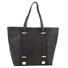Buy COLLECTION by John Lewis Montrose Leather Tote Bag, Black Online at johnlewis.com