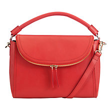 Buy COLLECTION by John Lewis Hayley Leather Top Handle Shoulder Bag Online at johnlewis.com