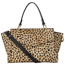 Buy Somerset by Alice Temperley Ilton Leather Satchel Bag, Leopard Online at johnlewis.com