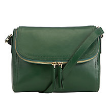 Buy COLLECTION by John Lewis Hayley Leather Across Body Bag Online at johnlewis.com