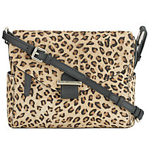 Buy Somerset by Alice Temperley Rosegrove Mini Leather Across Body Bag, Leopard Online at johnlewis.com