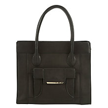 Buy COLLECTION by John Lewis Shenie Leather Shoulder Bag, Black Online at johnlewis.com