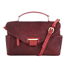 Buy Somerset by Alice Temperley Rosegrove Across Body Leather Bag, Oxblood Online at johnlewis.com