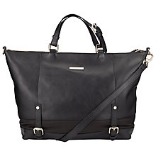 Buy Somerset by Alice Temperley Qualigate Leather Across Body Bag, Black Online at johnlewis.com