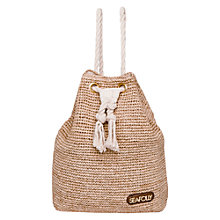 Buy Seafolly Stow Away Raffia Tote Bag, Natural Online at johnlewis.com