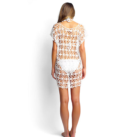 Buy Seafolly Field of Daisies Kaftan, One Size Online at johnlewis.com