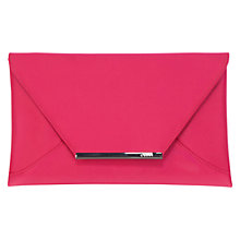 Buy Coast Envelope Clutch, Fuchia Online at johnlewis.com