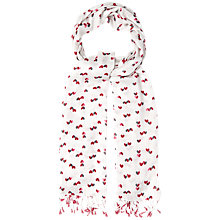 Buy White Stuff Half Hearted Scarf, Multi Online at johnlewis.com