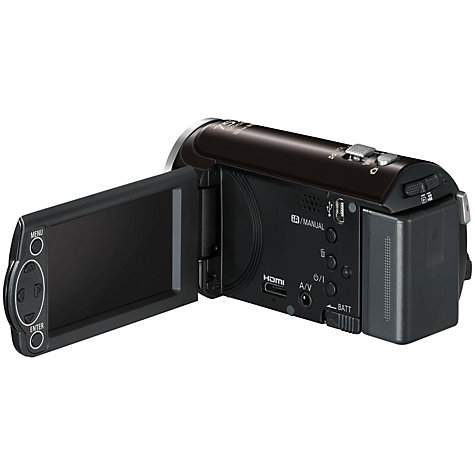 Buy Panasonic HC-V130 HD 1080p Camcorder, 8.9MP, 38x Optical Zoom, 2.7 LCD Screen Online at johnlewis.com