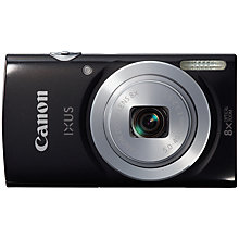 "Buy Canon IXUS 145 Digital Camera, HD 720p, 16MP, 8x Optical Zoom, 2.7"" LCD Screen Online at johnlewis.com"